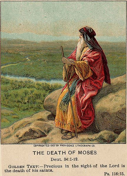 MOSES LOOKING OVER THE PROMISED LAND dans immagini sacre moses-looking-promised-land