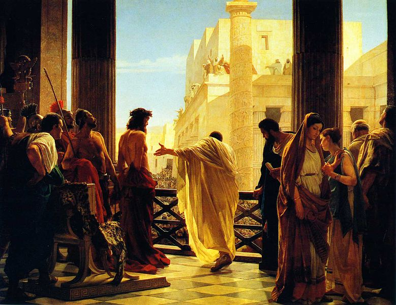Jesus's Trial Before Pilate