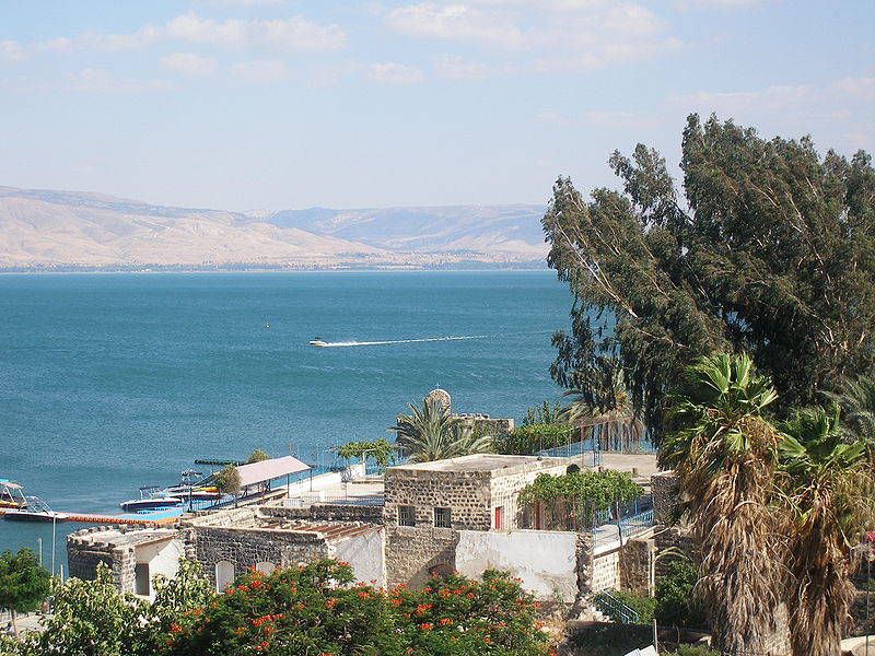 Sea of Galilee Today