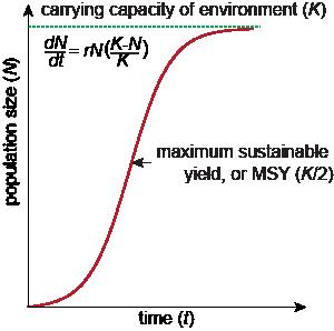 Biology Maximum Sustainable Yield Msy Shmoop Biology