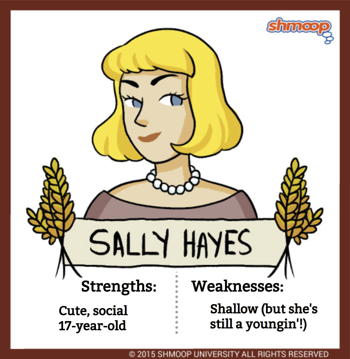 sally hayes in the catcher in the rye click the character infographic to