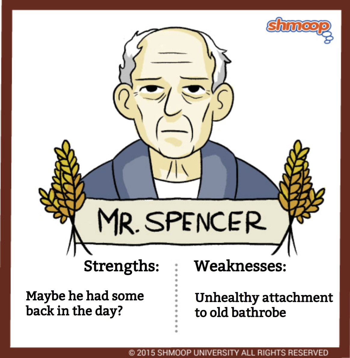 mr spencer in the catcher in the rye click the character infographic to