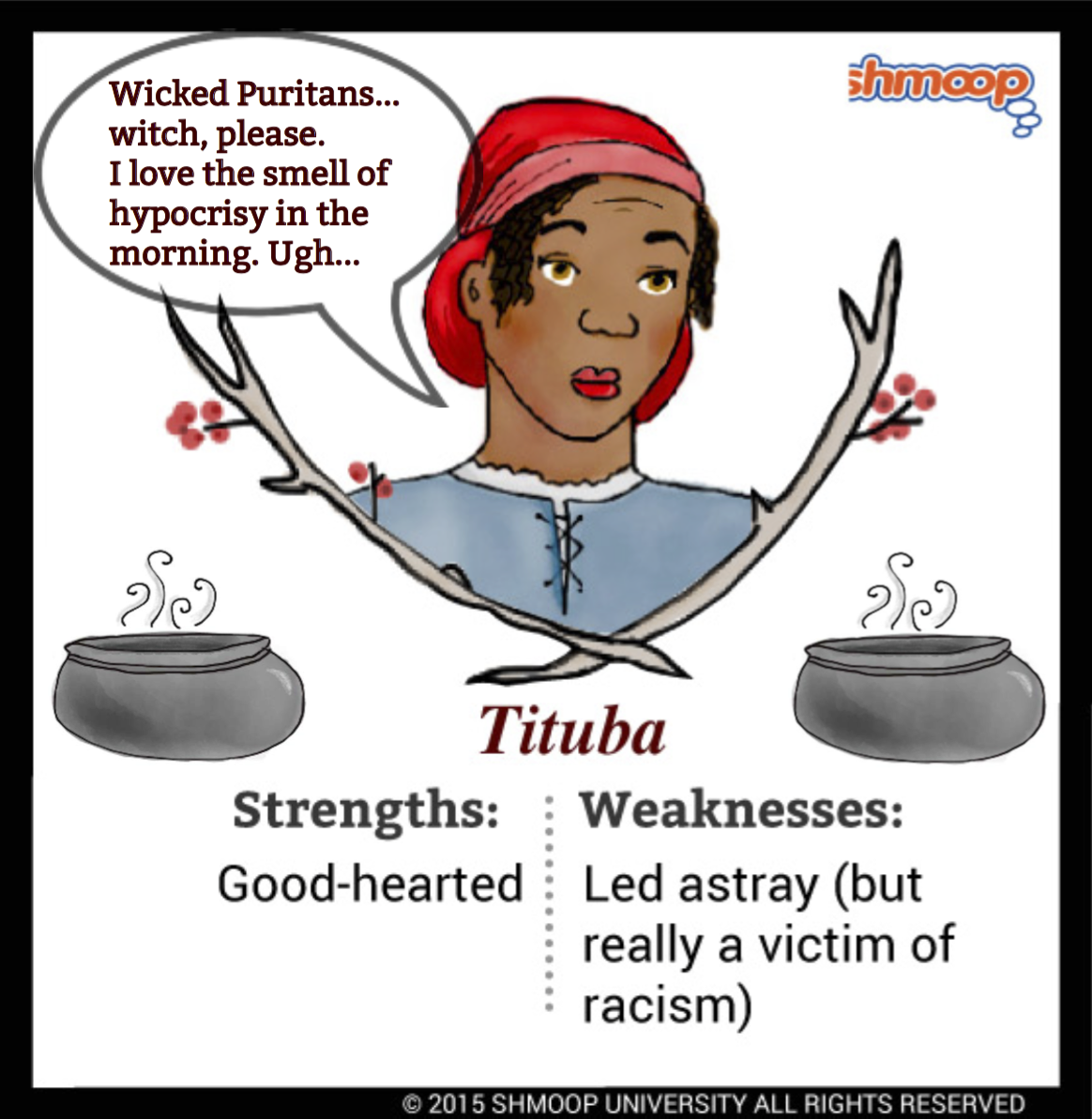 tituba in the crucible character analysis