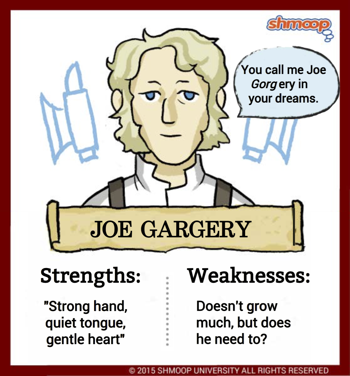 joe gargery in great expectations chart joe gargery