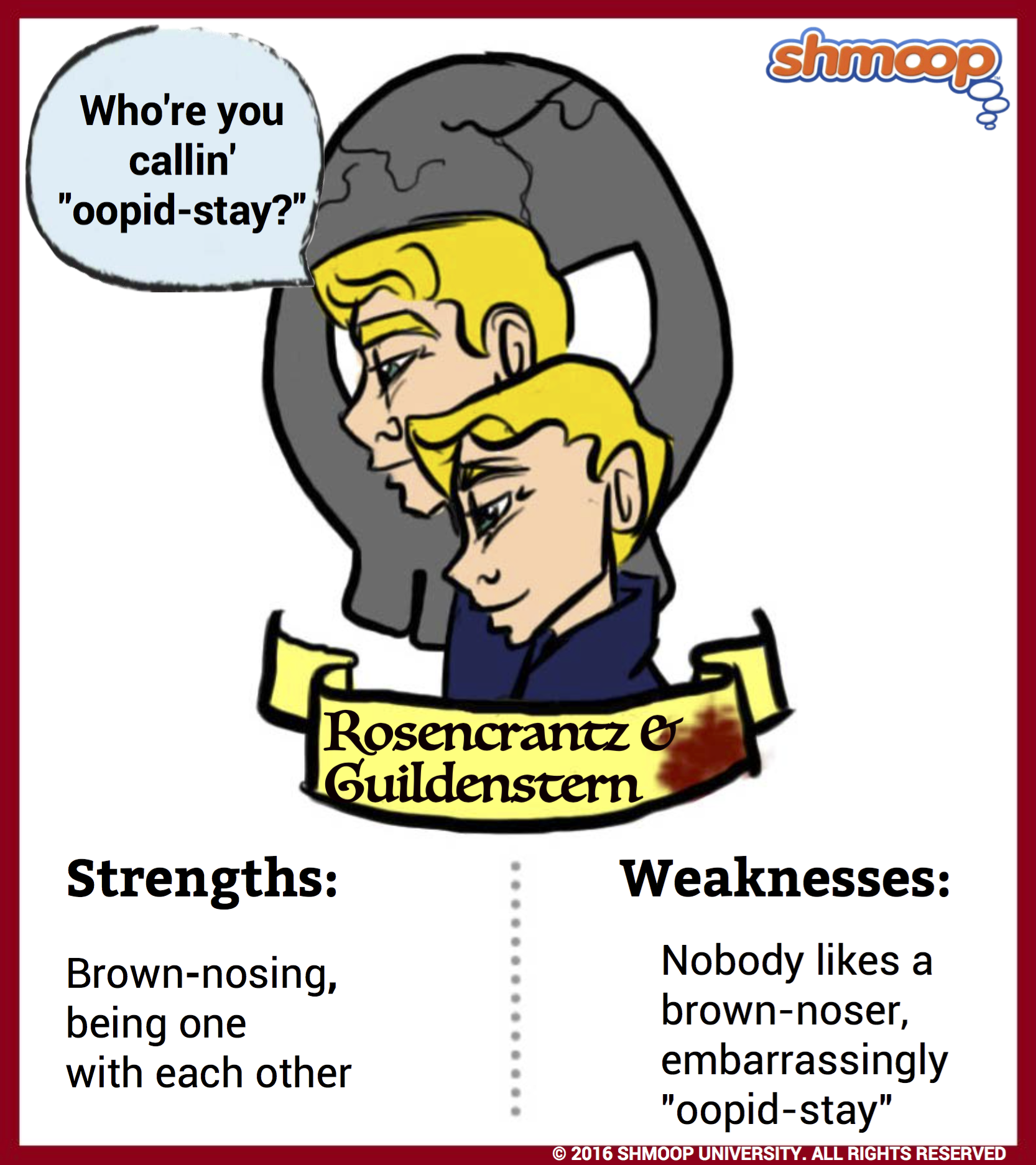rosencrantz and guildenstern in hamlet character analysis