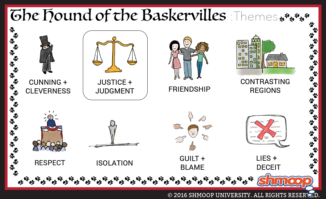 hound of the baskervilles themes analysis essay