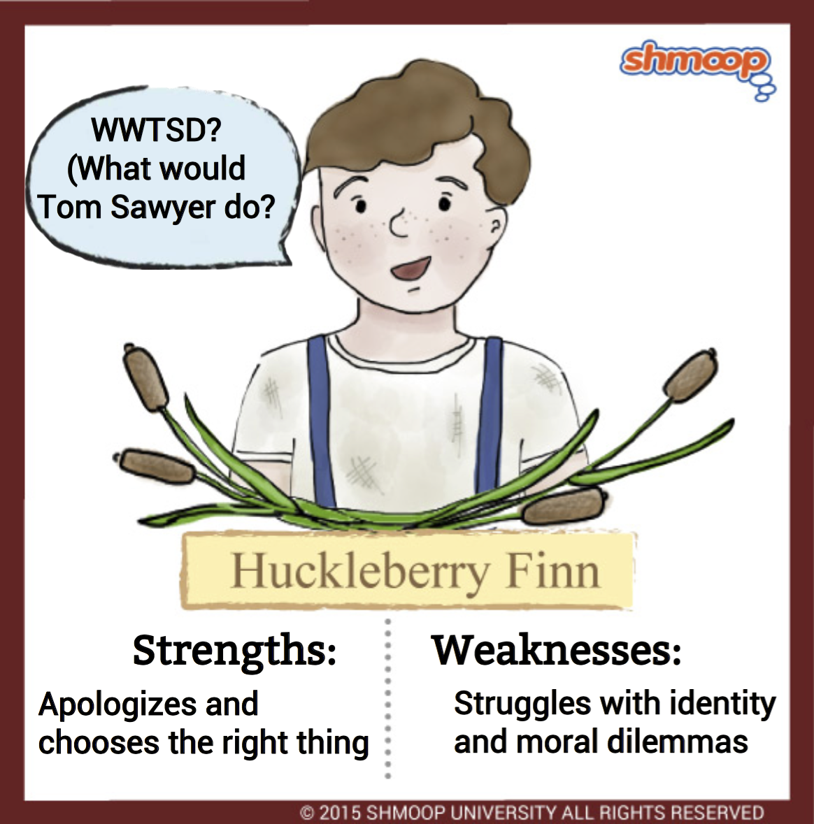 argumentative essay huck finn Huck finn argument essay weeds and roses weed #1—use of titles when using a title/name for the first time, use the entire name: the adventures of huckleberry.