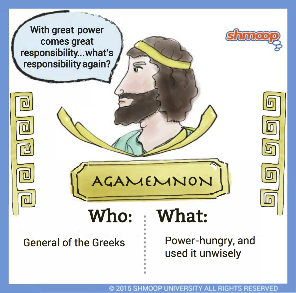 agamemnon in the iliad character analysis