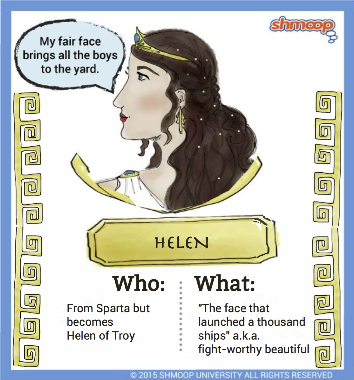 helen in the iliad character analysis