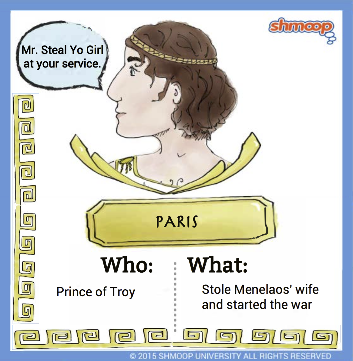 paris in the iliad click the character infographic to