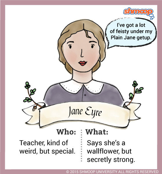 jane eyres development with characterization essay Narration and conversation in jane eyre but they are also important to jane eyre as a character in her own novel sample papers introduction to.
