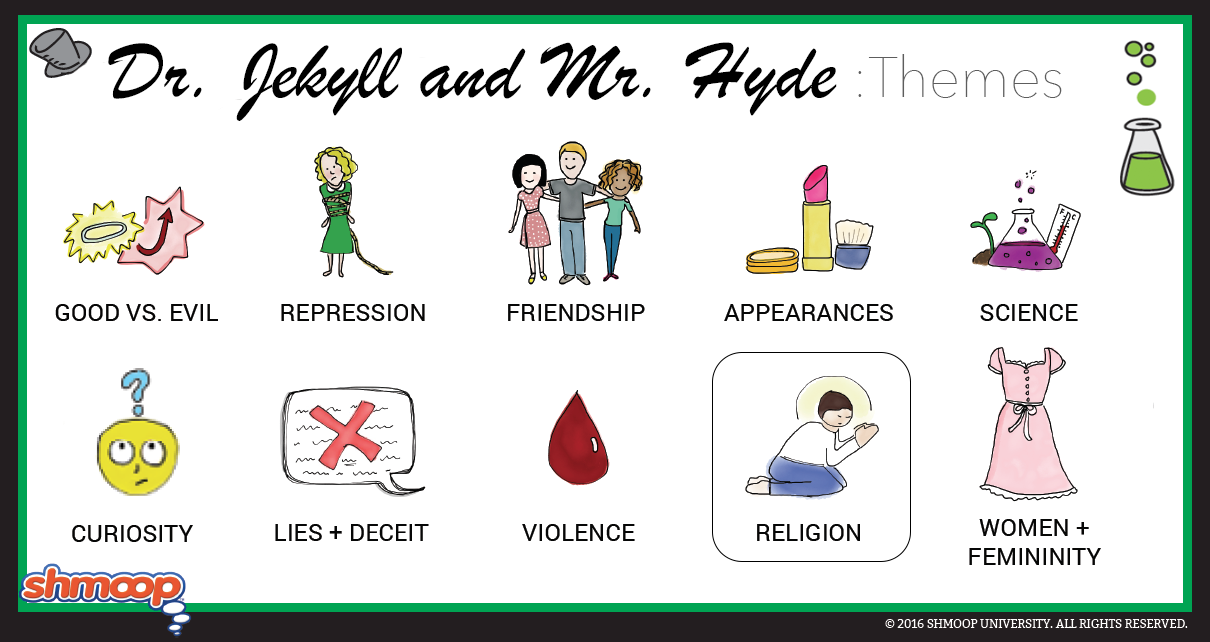 Strange Case Of Dr Jekyll And Mr Hyde Theme Of Religion