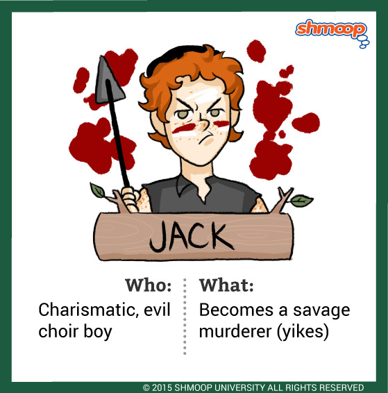 jack in lord of the flies character analysis