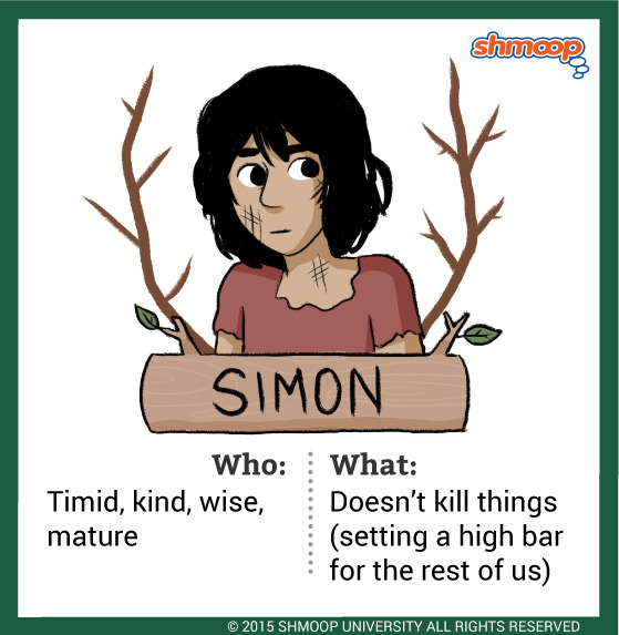 simon in lord of the flies character analysis