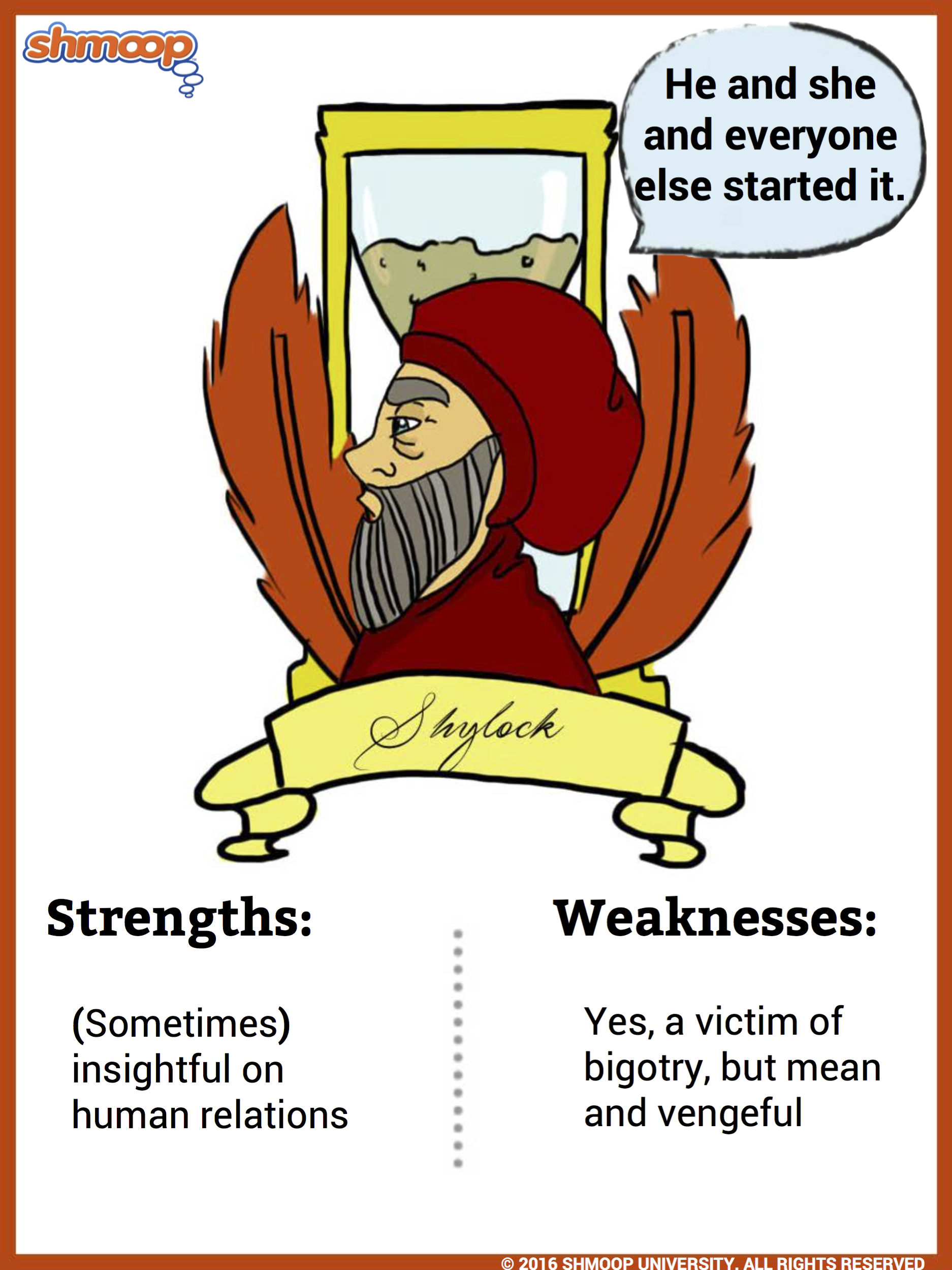 character analysis of shylock essay From a general summary to chapter summaries to explanations of famous quotes, the sparknotes the merchant of venice study guide has everything you need to ace quizzes.