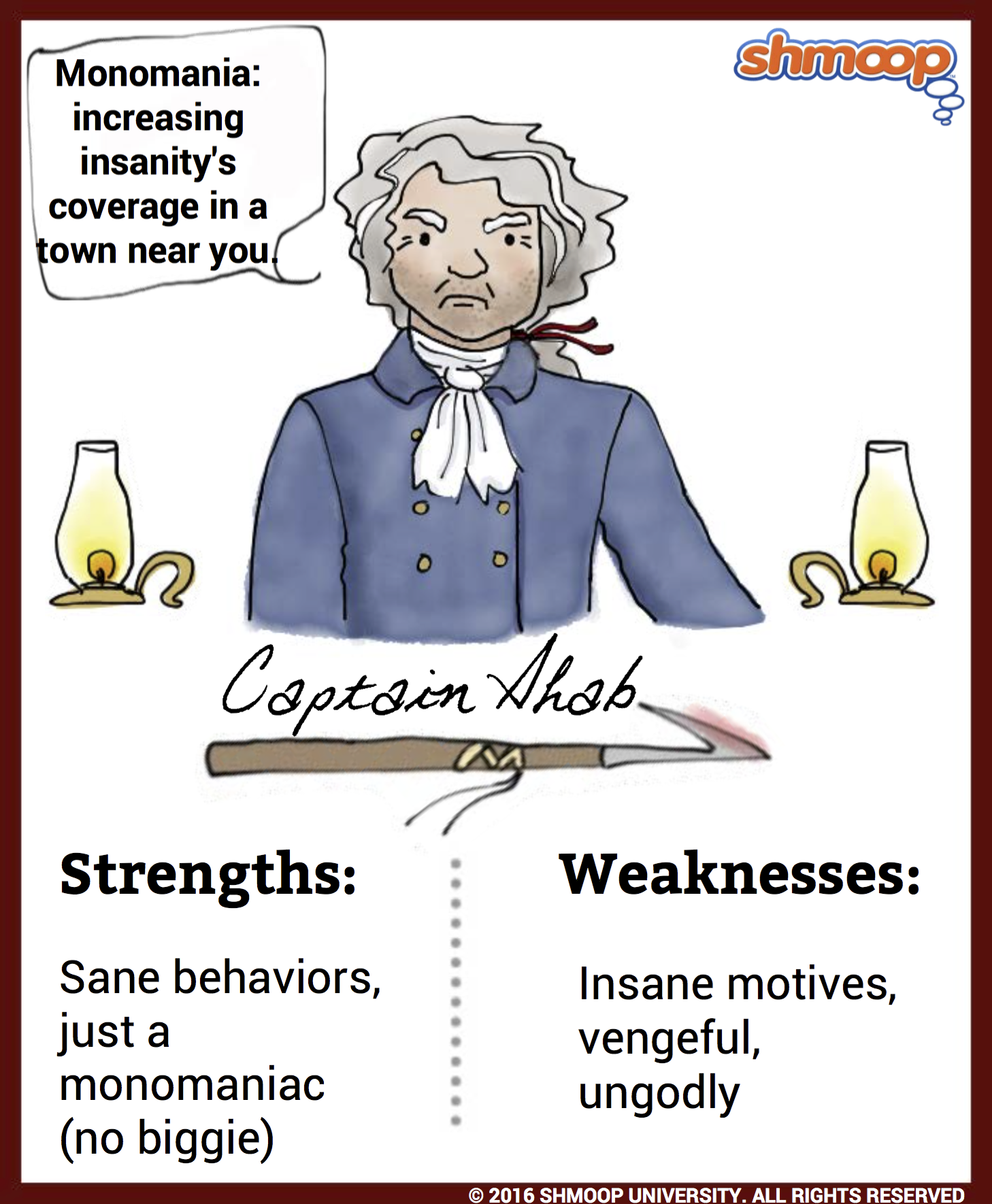 Everything you need to know about Captain Ahab