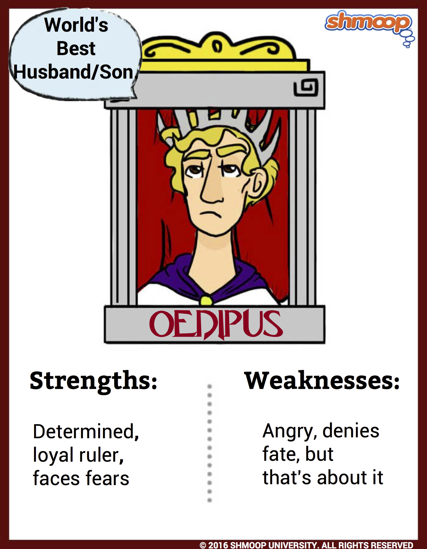 an analysis of the role of fate in oedipus by sophocles Get an answer for 'what is the role of fate in oedipus rex' and find homework help for other oedipus rex questions at enotes.