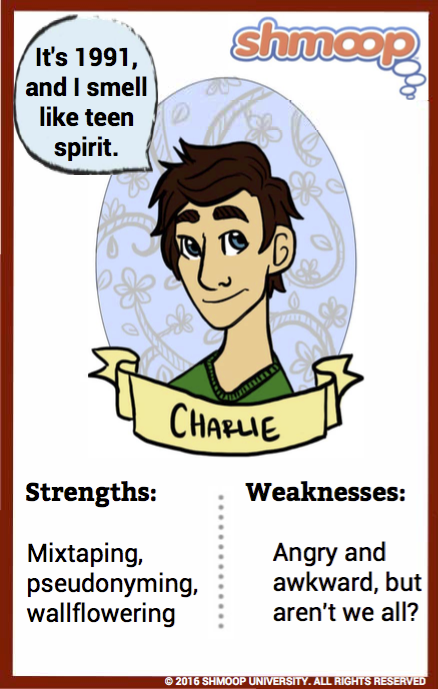 charlie in the perks of being a wallflower character analysis