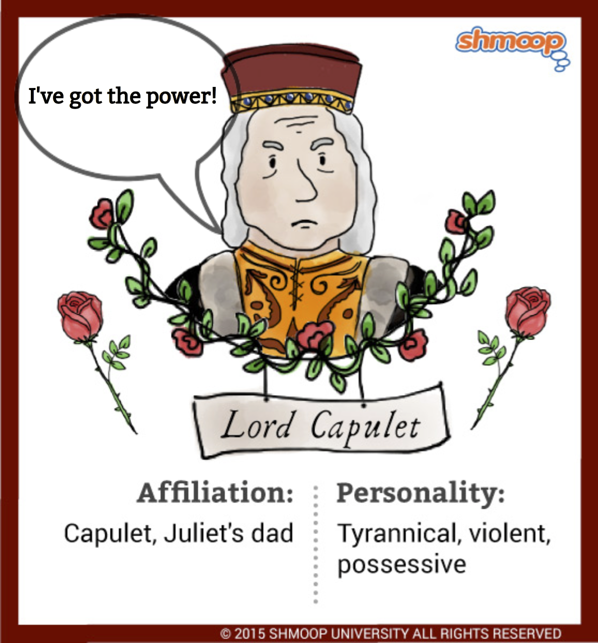 lord capulet character traits