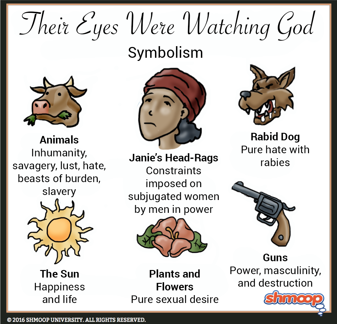 animals in their eyes were watching god animals