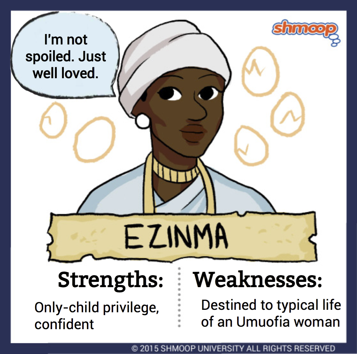 ezinma in things fall apart chart ezinma