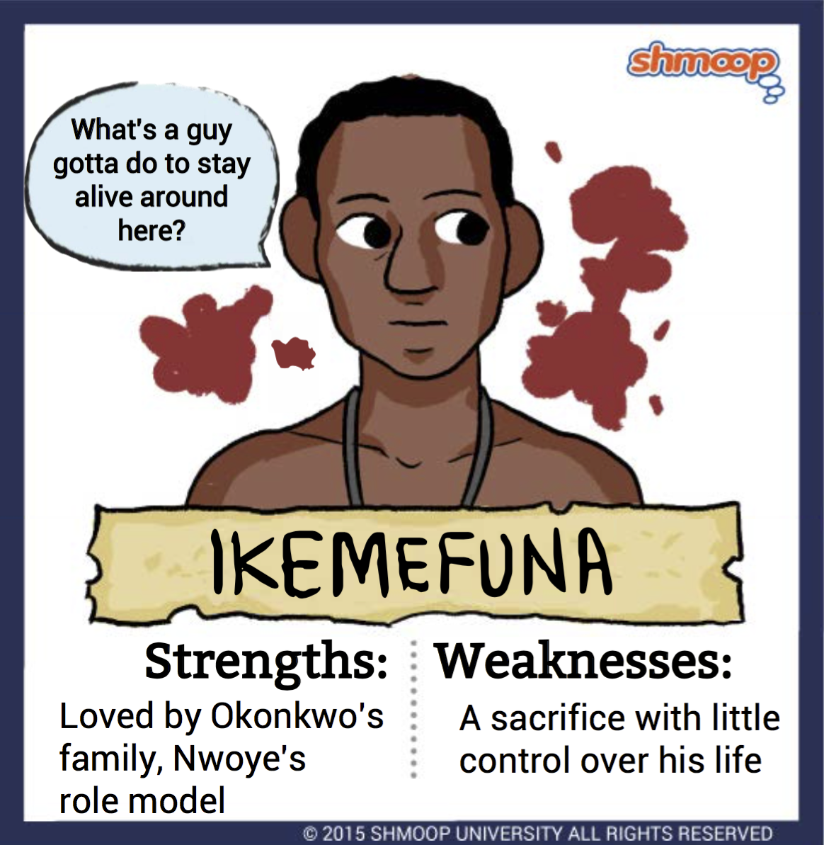 ikemefuna in things fall apart character analysis