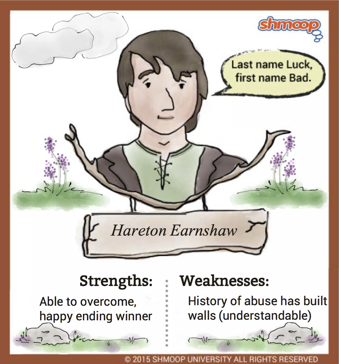 hareton earnshaw in wuthering heights character analysis
