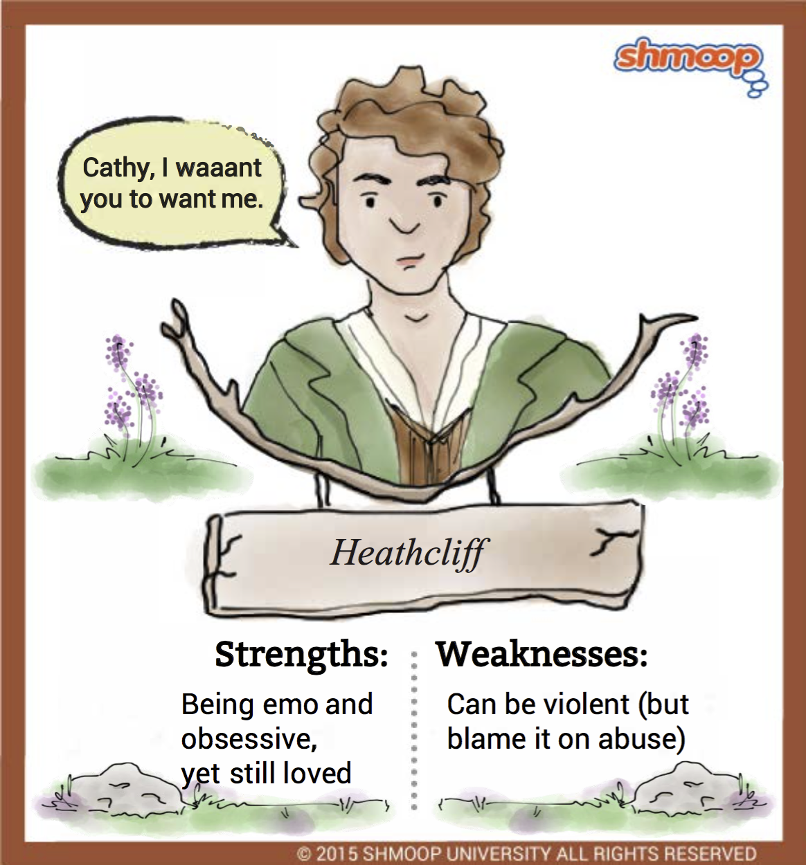 heathcliff in wuthering heights character analysis