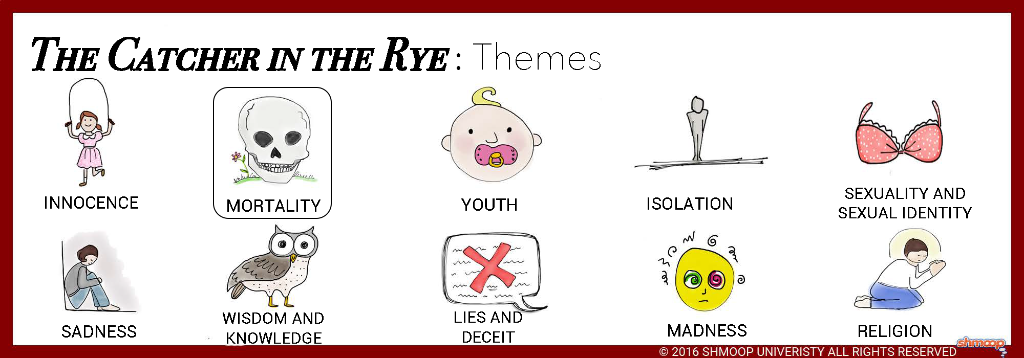 the themes of the innocence in the literature to kill a mockingbird and the catcher in the rye Catcher in the rye, the catcher in the rye, catcher, catcher in the, catcher salinger this complete 128-page literature guide for the catcher in the rye contains student coursework, activities, quizzes, tests, and more aligned with.