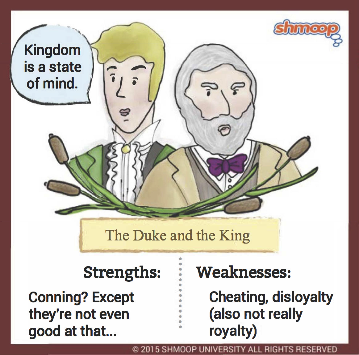 the duke and the king in adventures of huckleberry finn chart the duke and the king