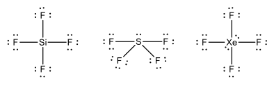 Sif4 Electron Dot Structure