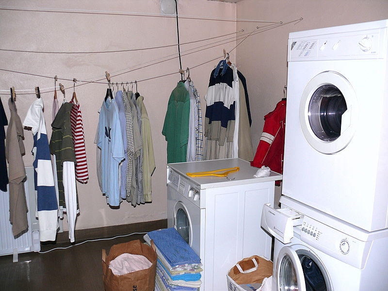 Location of Laundry Machines