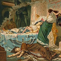 how cleopatra charmed antony In 41bce, antony summoned cleopatra to answer questions about her loyalty  the egyptian queen so charmed antony that he moved to alexandria to be with.
