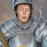 Bildresultat för paul mccartney knighted by the queen