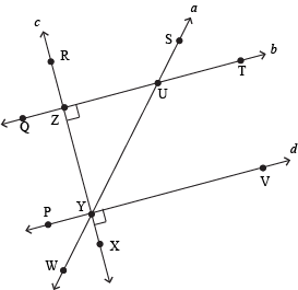 how to make a line perpendicular