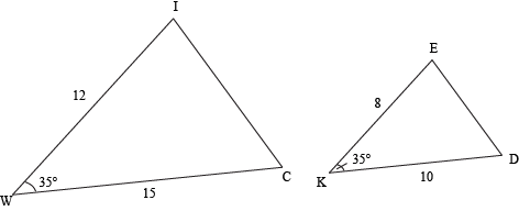 Similar Triangles Proving Triangle Similarity