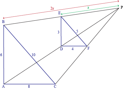 Similar Triangles Dilation