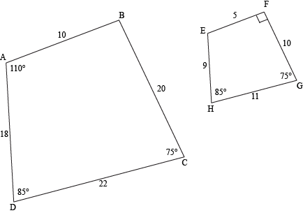 similar triangles similarity in other polygons