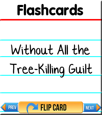 Flashcards - Without All the Tree-Killing Guilt