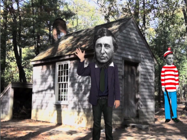 walden setting field trip walden chronicles the two years thoreau