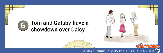great gatsby chapter 6 summary