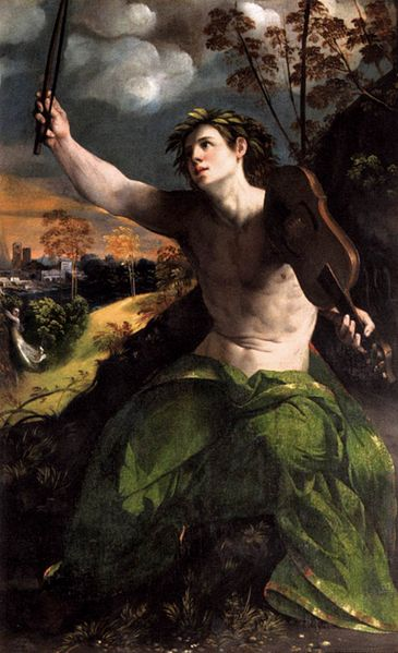 Apollo Sings About Daphne