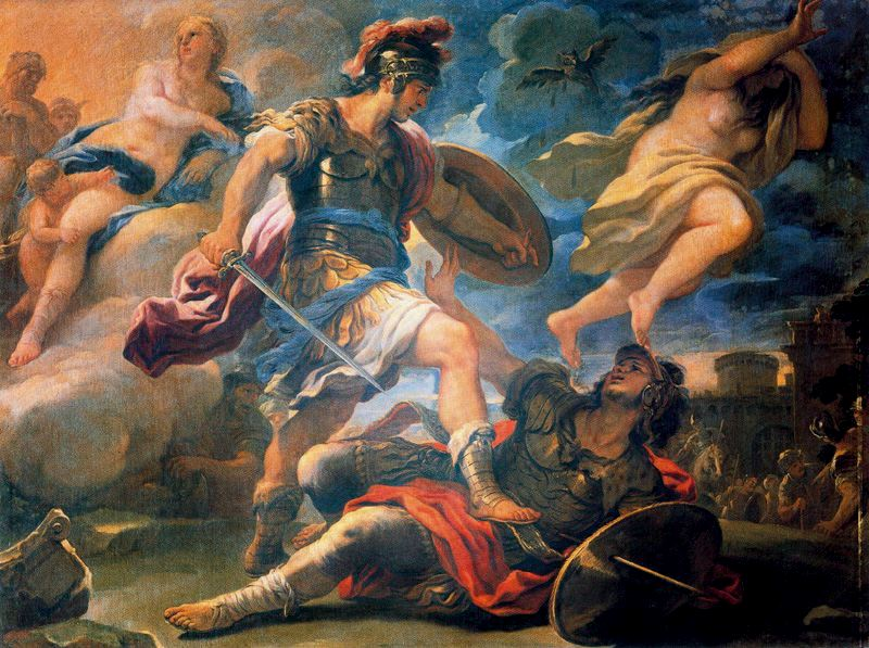 a comparison between two main characters homers odysseus and virgils aeneas The two heroes sail the same seas, and in book iii of the aeneid, virgil brings aeneas and his people into contact with some of the same perils, thus providing strong reminders of the earlier epic.