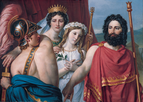 slave relationship and achilles briseis