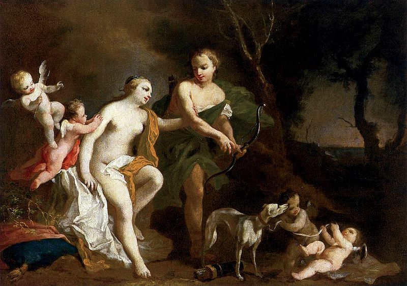 Marriage of Aphrodite and Hephaestus