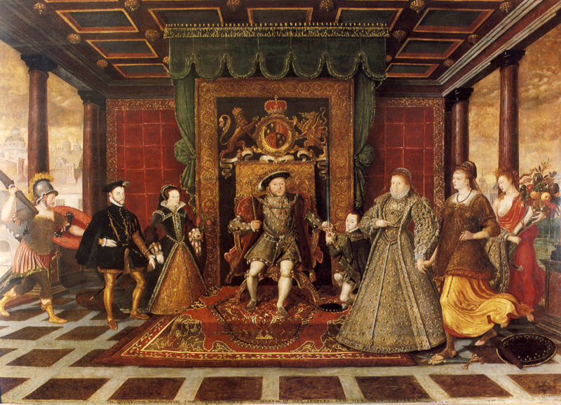 Ares and the Tudors