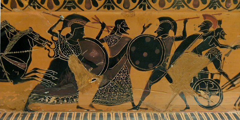 Ares and Athena Fight