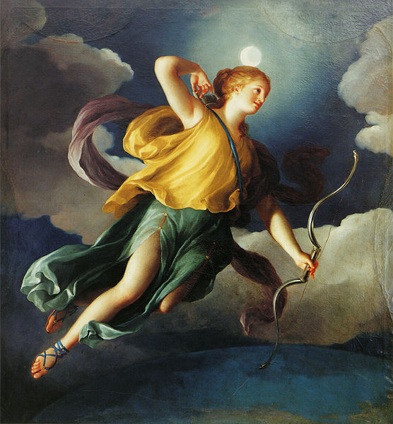 Artemis and the Moon