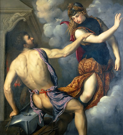 Athena and Hercules