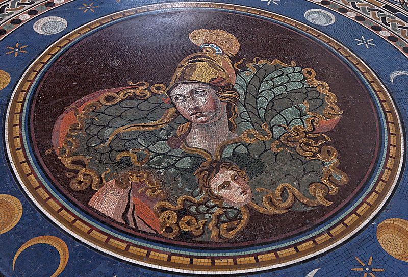 Mosaic of Athena